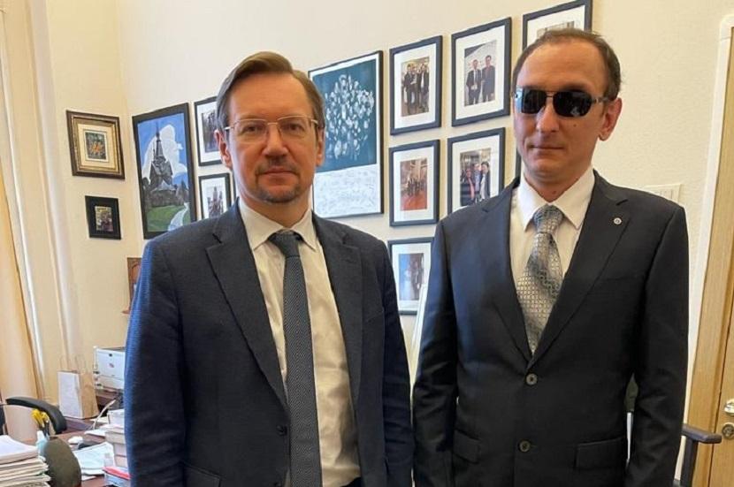 Встреча с заместителем департамента по общественным проектам Александром Владимировичем Журавским