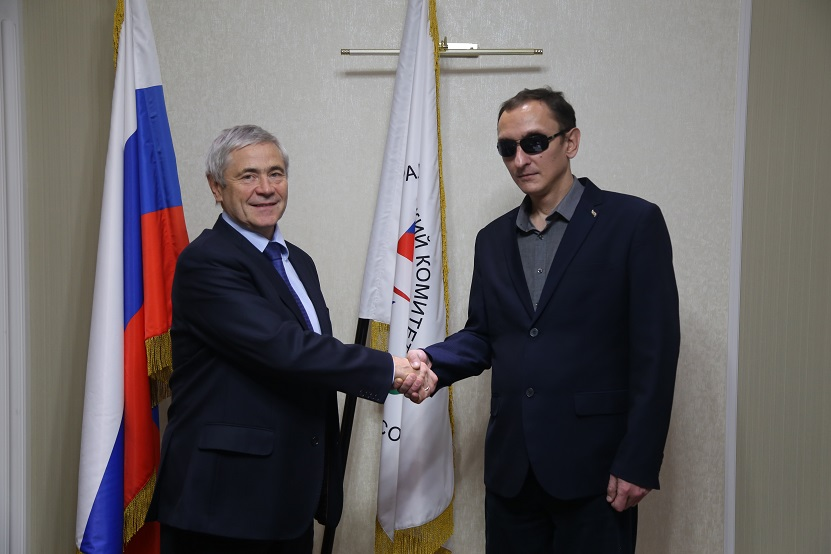 Президент благотворительного фонда и ИО Президента Паралимпийского Комитета России договорились о сотрудничестве